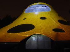 'The Blob' videomapping, photo: CTK