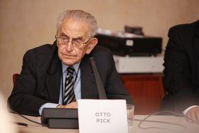 Otto Pick (Foto: Archiv des Instituts für Zeitgeschichte)