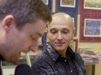 Author Libor Budinsky (on the right), photo: CTK
