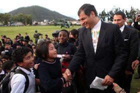 Rafael Correa, foto: Gobernación Imbabura / Wikimedia Commons, License CC BY 2.0