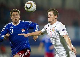 Los checos derrotaron a Liechtenstein por 2-0, foto: ČTK