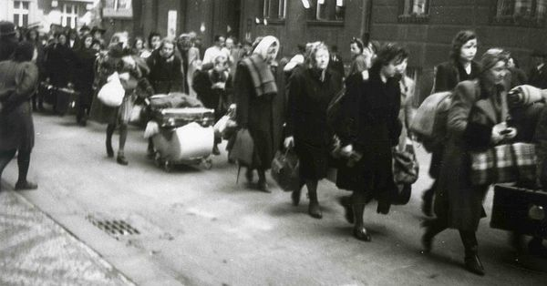 Брненский марш смерти, фото: Archiv Národního muzea
