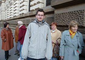 Čeští občané zBratislavy při Senátních volbách vPraze, foto: autorka