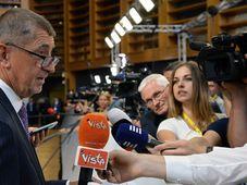 Andrej Babiš en Bruselas, foto: ČTK/ Jakub Dospiva