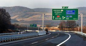Новый участок магистрали D8, Фото: ЧТК