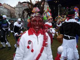 Shrovetide Carnival, photo: archive of Radio Prague