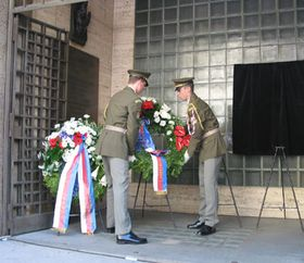 Aniversario del inicio del Levantamiento de Praga de mayo de 1945  (foto: autora)