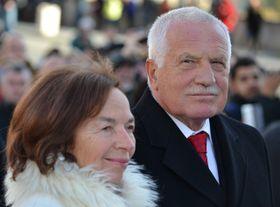 Václav Klaus senior y su esposa Livia, foto: David Sedlecký / CC BY-SA 3.0