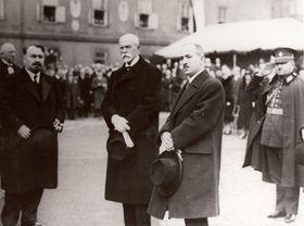 TGM y Edvard Beneš, foto: VHÚ