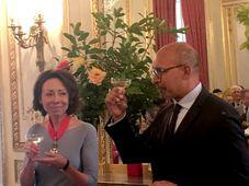 Marie Chatardová et Harlem Désir, photo: Kateřina Srbková