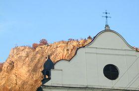 Святой Ян под Скалой