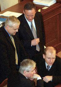 В. Шпидла, Ц. Свобода, Й. Руснок и Б. Соботка (Фото: ЧТК)