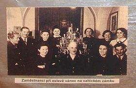 Los empleados del príncipe Liechtenstein