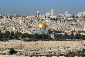 Jerusalem (Foto: Berthold Werner, Wikimedia Commons, Public Domain)