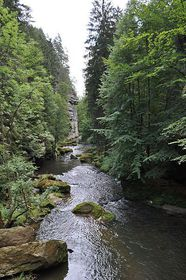 El río de Kamenice, foto: Mar del Sur, CC BY-SA 3.0 Unported