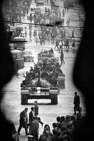 Photo: Miroslav Hucek / L'exposition Sovětská invaze/Srpen 1968