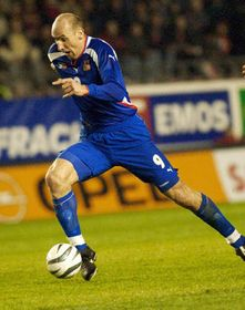 Jan Koller, photo: CTK