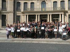DSA y los representantes de las organizaciones de caridad, foto: Dominika Bernáthová