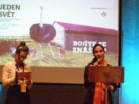 Yoani Sánchez au festival Jeden svět, photo: Freddy Valverde