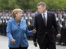 Angela Merkel et Andrej Babiš, photo: Markus Schreiber/AP Photo/ČTK
