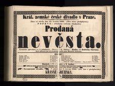 """Oper """"Die verkaufte Braut"""" (Foto: Archiv des Nationalmuseums in Prag)"""