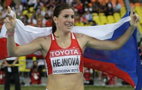 Zuzana Hejnová, foto: ČTK