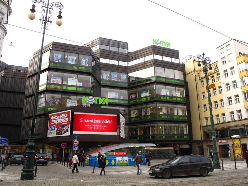 Kotva department store, photo: Kristýna Maková