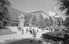 Československý pavilon, foto: ČTK