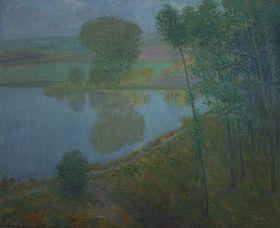 Антонин Гудечек,«Осенний вечер», Национальная галерея в Праге