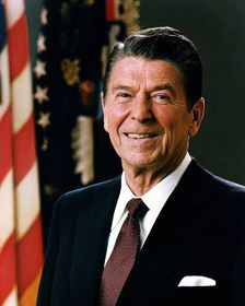 Ronald Reagan (Foto: Executive Office of the President of the United States, Public Domain)