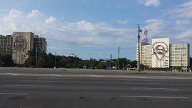 La Plaza de la Revolución José Martí, de La Habana, foto: Abeluna05, CC BY-SA 4.0