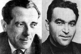 Alfréd Wetzler und Rudolf Vrba (Foto: Wikimedia Commons)