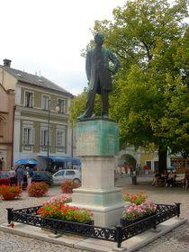 Monumento de Federico Smetana, ciudad de Litomysl