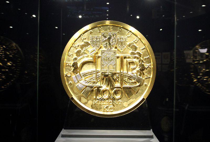 La deuxième plus grande pièce d'or au monde, photo: Alexandra Baranová