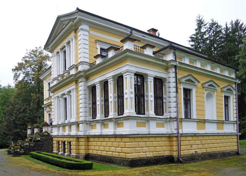 Zámeček ve Vysoké uPříbrami, foto: Marcela Hájková, archiv ČRo
