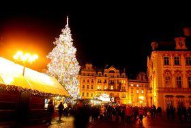 Mercado navideño en Praga, foto: Štěpánka Budková