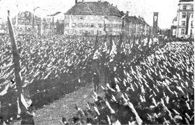 1 мая 1938 в Либерце, Фото: открытый источник