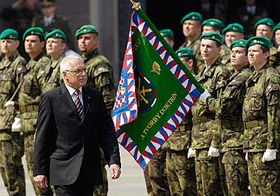 Slavnostní vojenská přísaha, foto: ČTK