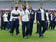 The Italian national football team in Prague, photo: CTK