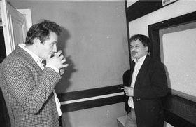 Zbygniev Bujak et Lech Kaczynski, photo: CTK