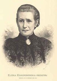 Eliška Krásnohorská, foto: Jan Vilímek, public domain