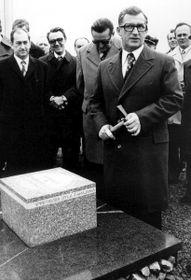 Lubomír Štrougal (rechts). Foto: Archiv des Tschechischen Rundfunks