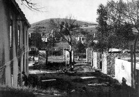24 июня 1942 года поселок  Лежаки сравняли с землей. Фото ЧТК
