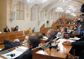 Cumbre del Comité Internacional por la Democracia en Cuba celebrada en Praga (Foto: Freddy Valverde)