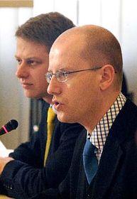Bohuslav Sobotka, Tomáš Prouza, foto: ČTK