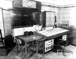 Radio Prague studio in the 1960s