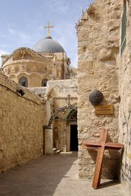 9th Station, Jesus falls for the third time, Via Dolorosa, Jerusalem, photo: Berthold Werner, CC BY-SA 3.0