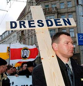 The supporters of the neo-Nazi National Party of Germany, photo: CTK