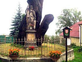 Pomník sv. Václava ve Stochově, foto: Autor