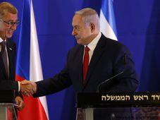 Andrej Babiš und Benjamin Netanjahu (Foto: ČTK / AP Photo / Ariel Schalit, Pool)